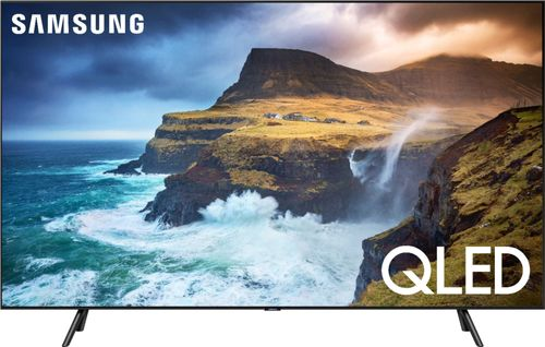 SAMSUNG 82u0022 Class 4K Ultra HD (2160P) HDR Smart QLED TV QN82Q70R (2019 Model)