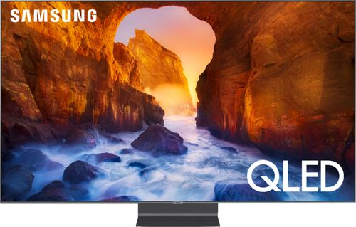 SAMSUNG 82u0022 Class 4K Ultra HD (2160P) HDR Smart QLED TV QN82Q90R (2019 Model)