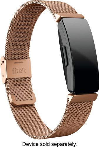 Fitbit - Watch Strap for Fitbit Inspire - Rose Gold