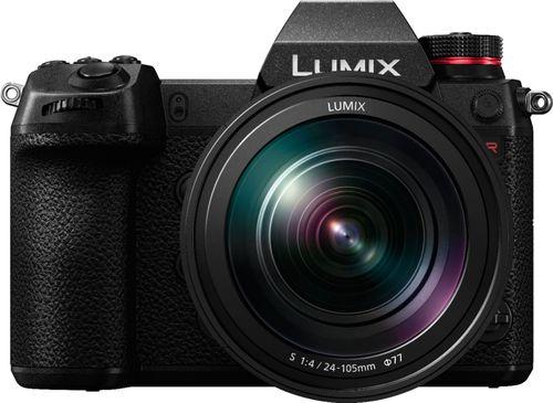 Panasonic - LUMIX S1R Mirrorless Camera with 24-105mm F4 L-Mount Lens