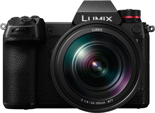 Panasonic - LUMIX S1 Mirrorless Camera with 24-105mm F4 L-Mount Lens