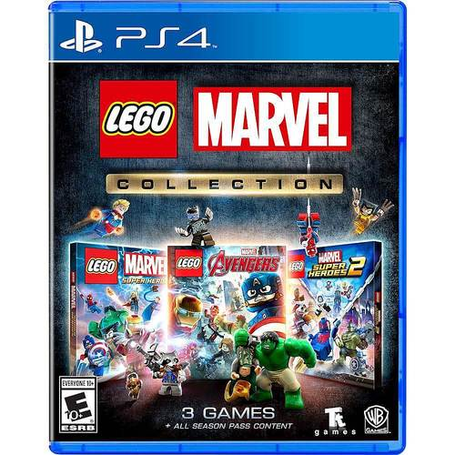 Lego Marvel Collection PlayStation 4 - For PlayStation 4 - Action/Adventure Game - ESRB Rated E10+ - Multiplayer Supported - 3 Games Collection