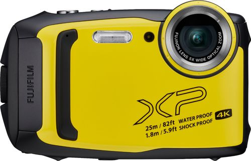 Fujifilm - FinePix XP140 16.4-Megapixel Digital Camera - Yellow