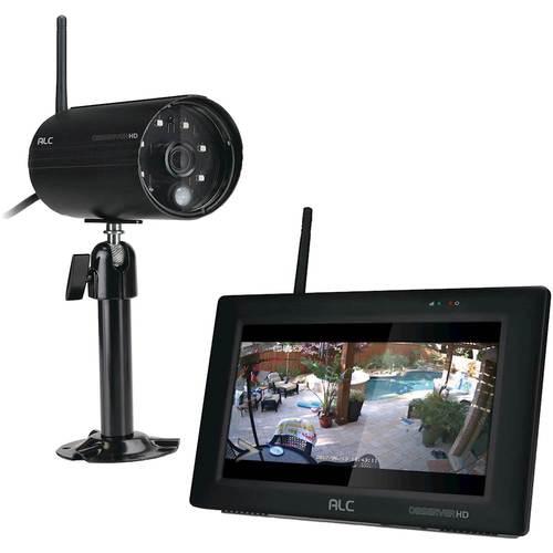 Image of ALC - Observer Indoor/Outdoor Wireless Surveillance System - Black