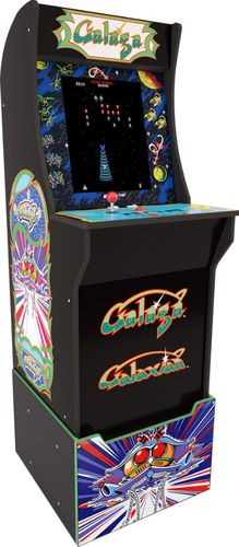 Arcade1Up Galaga at Home Arcade with Riser