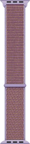 Apple - Sport Loop for Apple Watch™ 44mm - Lilac Designed for Apple Watch 44mm; woven nylon material; fits 145-220mm wrists