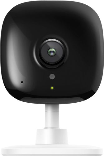 TP-Link - Kasa Spot Indoor 1080p Wi-Fi Wireless Security Camera - Black/White