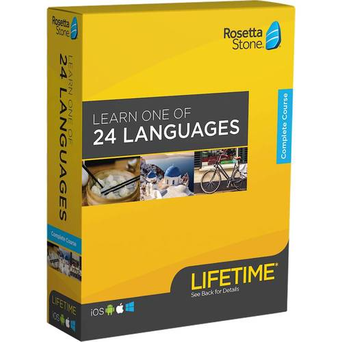 Rosetta Stone: Learn a Language with Lifetime Access