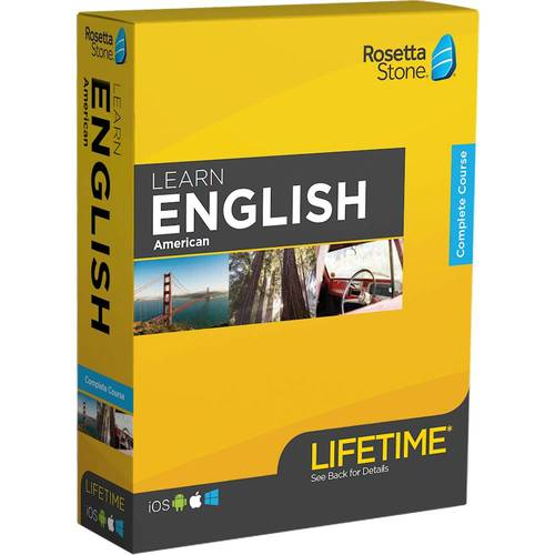 Rosetta Stone: Learn English with Lifetime Access