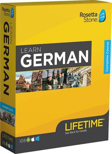 Rosetta Stone: Learn German with Lifetime Access – BrickSeek