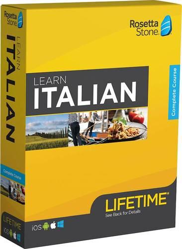 Rosetta Stone: Learn Italian with Lifetime Access