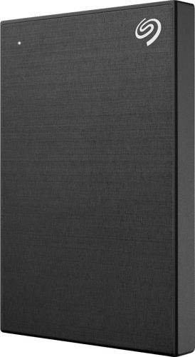 Seagate Backup Plus Slim Portable 2TB External Hard Drive - Black (STDR2000100)