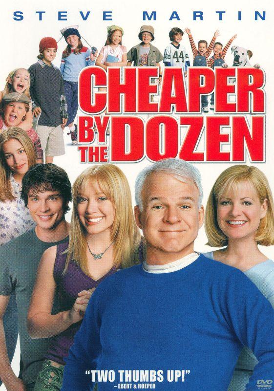 Cheaper By the Dozen [DVD] [2003] 6335744