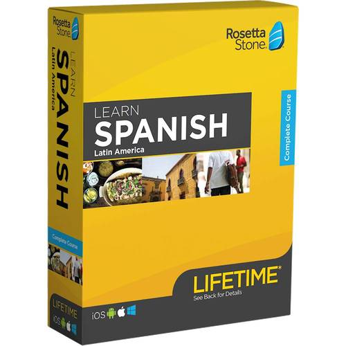 Rosetta Stone: Learn Spanish LA with Lifetime Access