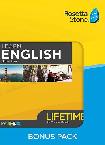 Rosetta Stone: Learn English Bonus Pack (Lifetime Access + Book Set)