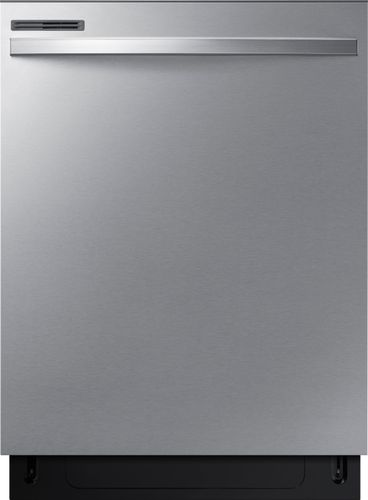 Samsung 24 in. Top Control Dishwasher with Stainless Steel Interior Door and Plastic Tall Tub in Stainless Steel, 55 dBA