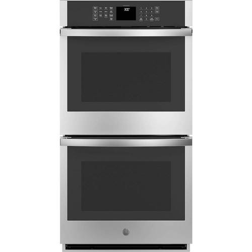 JKD3000SNSS  27 Double Wall Oven with 8.6 cu. ft. Total Capacity  Self Clean  WiFi Connectivity  Sabbath Mode  Delay Time  Electronic Controls  in Stainless Steel