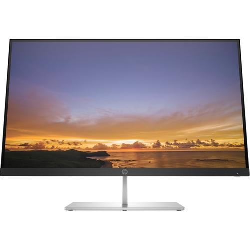"""HP - Pavilion 27"""" QHD FreeSync Monitor - Sparkling Black"""