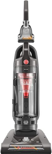 Hoover - WindTunnel 2 High Capacity Pet Bagless Upright Vacuum - Gray