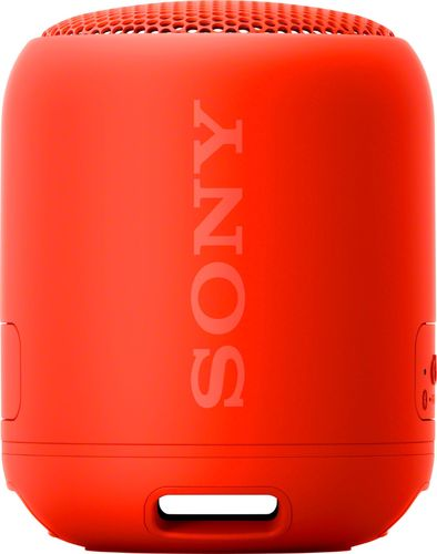 Sony XB12 Portable Wireless Bluetooth Speaker- Red (SRSXB12/R)