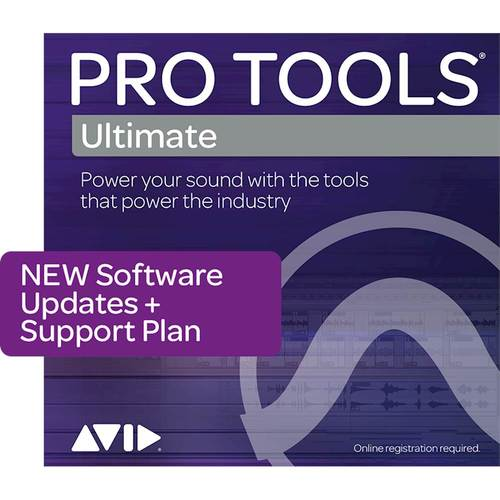 Pro Tools Ultimate (1-Year Update Subscription + Support Plan) - Mac|Windows