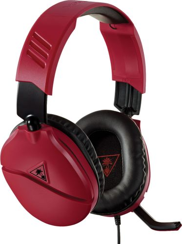Turtle Beach Recon 70 Wired Gaming Headset for Xbox One/Series X/S/PlayStation 4/5 - Red