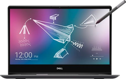 Dell - Inspiron 2-in-1 13.3u0022 4K Ultra HD Touch-Screen Laptop - Intel Core i7 - 16GB Memory - 512GB SSD + Optane - Black Tablet Notebook I7390-7100BLK-PUS UHD PC Computer