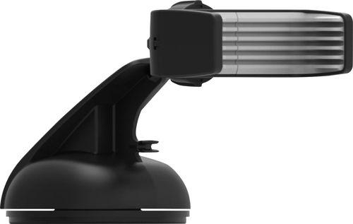 Bracketron - Mi-T Grip Holder for Mobile Phones - Gray/Black