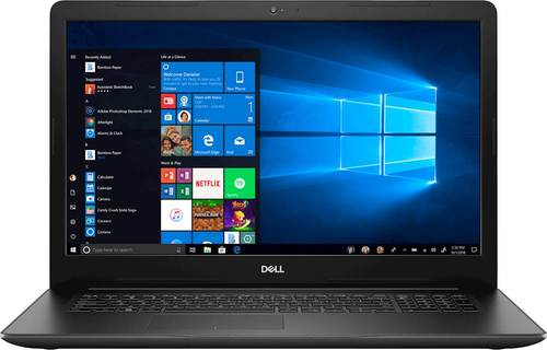 Dell Inspiron 17 3780 Laptop, 17.3u0022, Intel® Core™ i7-8565U, Intel® UHD Graphics 620, 2TB 5400 RPM HDD, 8GB RAM, i3780-7349BLK-PUS
