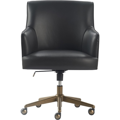 Belmont Home Office Chair Charcoal Gray - Finch