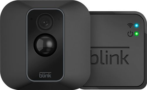 Blink - XT2 1-Camera Indoor/Outdoor Wire-Free 1080p Surveillance System - Black