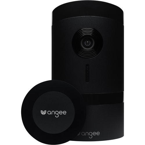 Angee - Wireless Home Security System - Black