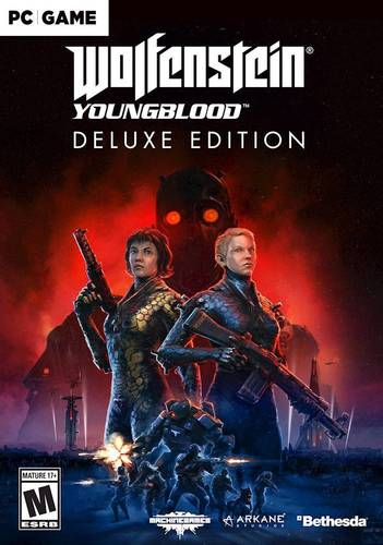 Wolfenstein Youngblood Deluxe Edition, Bethesda Softworks, PC, 093155174788