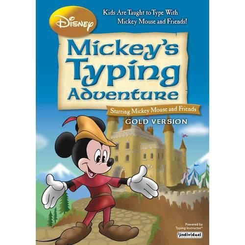 DISNEY MICKEY S TYPING ADV GOLD WIN (Digital Download)