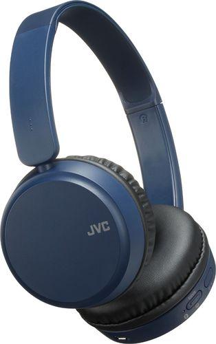 JVC Deep Bass Wireless Headphones, Bluetooth 4.1, Bass Boost Function, Voice Assistant Compatible, 17 Hour Battery Life - HAS