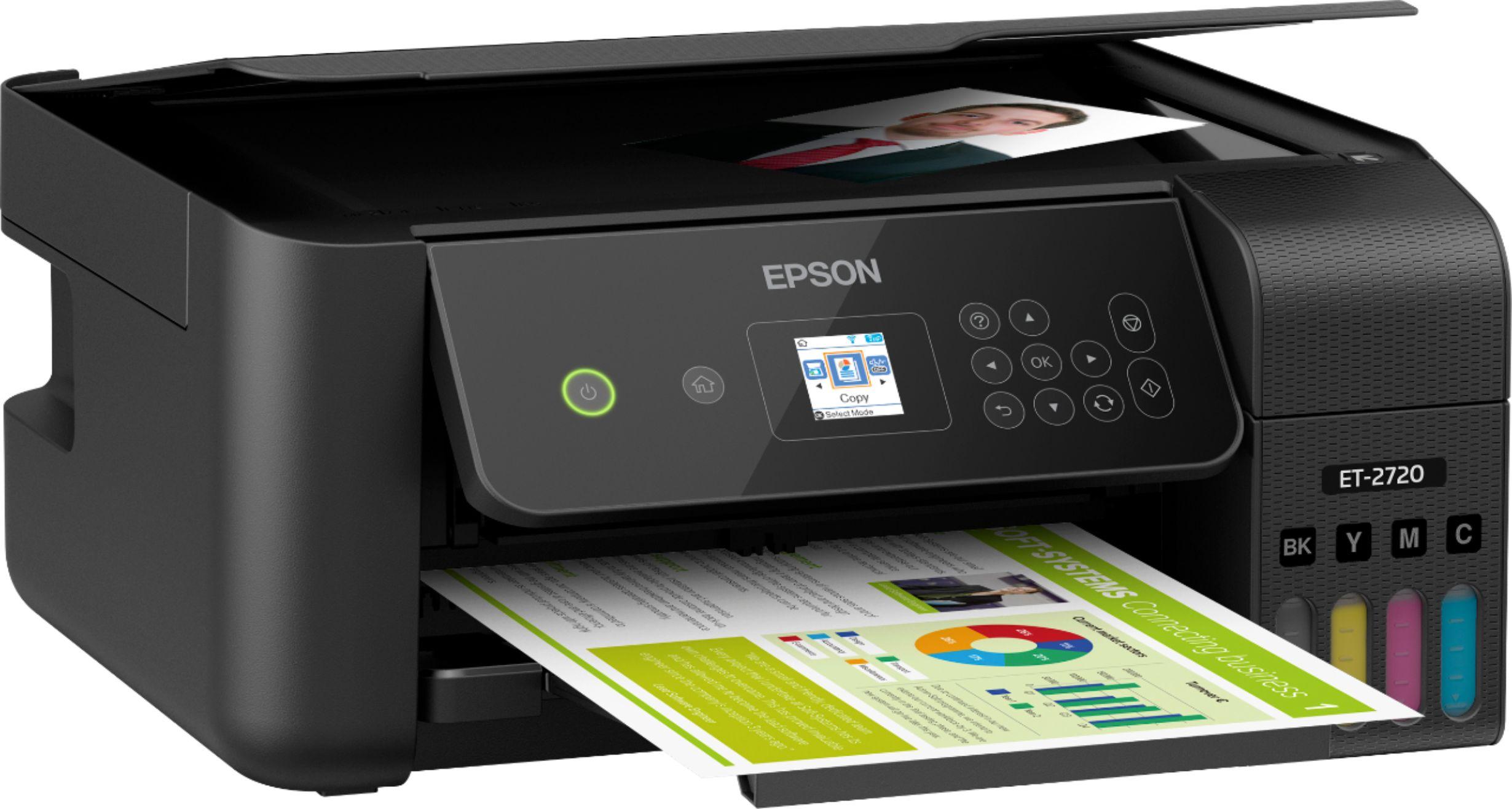 Epson ECOTANK ET-2720  C11CH42201 angleImage