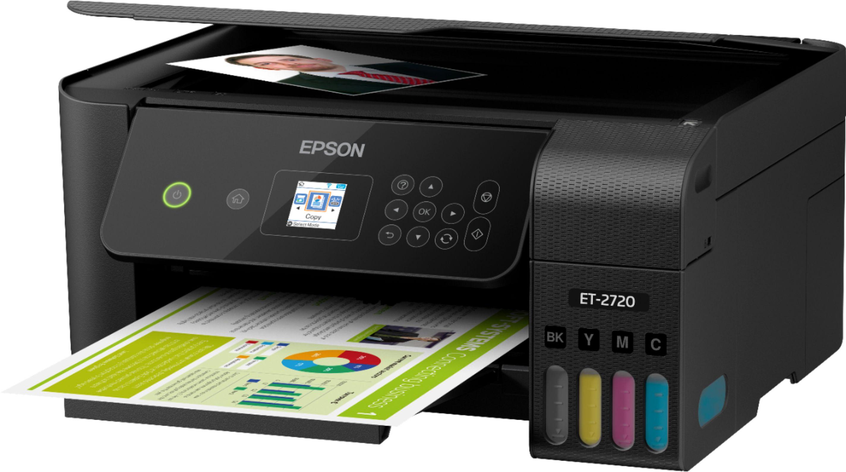 Epson ECOTANK ET-2720  C11CH42201 leftViewImage