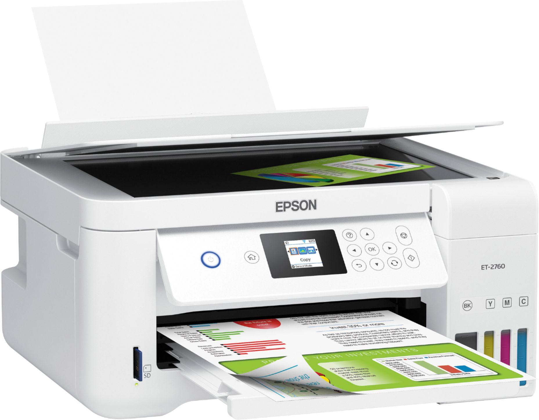 Epson ECOTANK ET-2760 PRINTER  C11CG angleImage