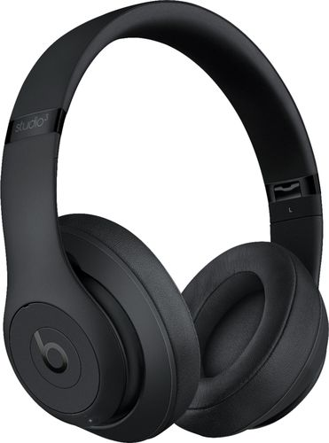 Beats by Dr. Dre - Geek Squad Certified Refurbished Beats Studio³ Wireless Noise Canceling Headphones - Matte Black