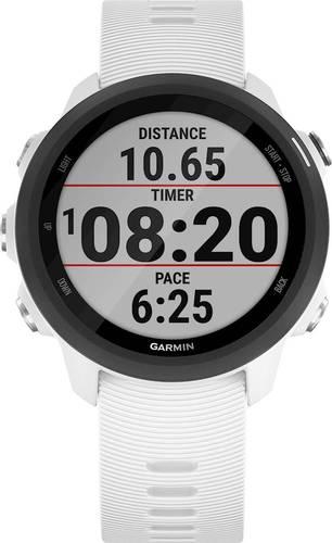 Garmin Forerunner 245 GPS Running Smartwatch with Music - White