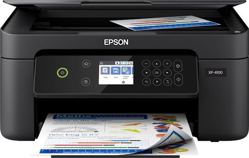 Epson Expression Home XP-4100 Inkjet Multifunction Printer - Color - Copier/Printer/Scanner - 5760 x 1400 dpi Print - Automatic Duplex Print