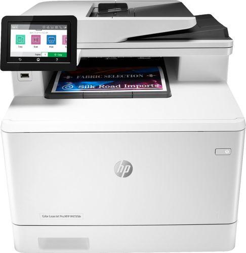 HP Inc. HP Color LaserJet Pro MFP M479fdn Duplex Laser Printer, 27ppm, USB 2.0, Ethernet