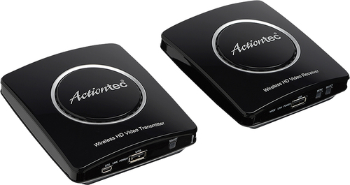 Image of Actiontec - MyWirelessTV2 Wireless Video Transmitter and Receiver - Black