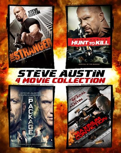 Steve Austin: 4 Movie Collection [4 Discs] [SteelBook] [Blu-ray] 6350036