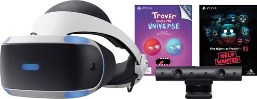 Sony PlayStation VR Bundle with Trover Saves the Universe & Five Nights at Freddys VR: Help Wanted
