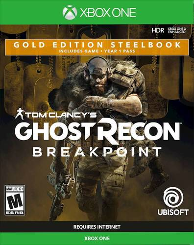 Tom Clancys Ghost Recon: Breakpoint Gold Edition Steel Book - Xbox One