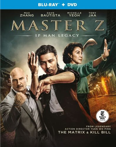 Master Z: The Ip Man Legacy [Blu-ray/DVD] [2018]