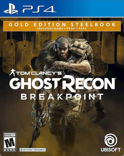 Tom Clancys Ghost Recon: Breakpoint Gold Edition Steel Book - PlayStation 4