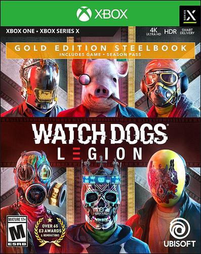 Watch Dogs: Legion Gold Edition Steelbook - Xbox One