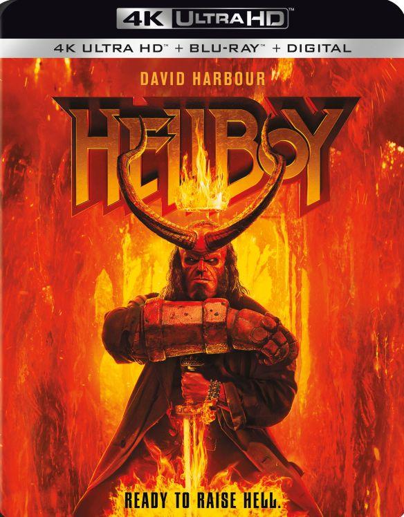 Hellboy [Includes Digital Copy] [4K Ultra HD Blu-ray/Blu-ray] [2019]
